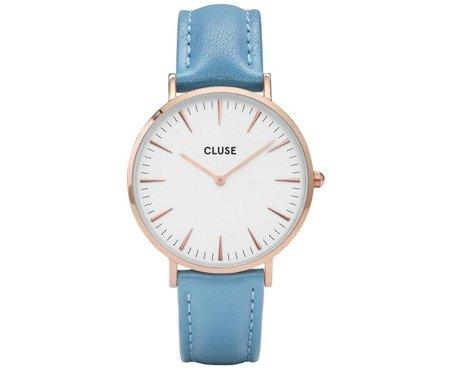 Cluse La Bohème Rose Gold White/Retro Blue CL18033