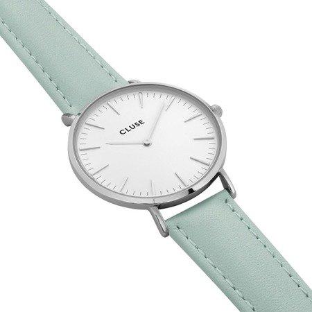 Cluse La Bohème Silver White/Pastel Mint CL18225