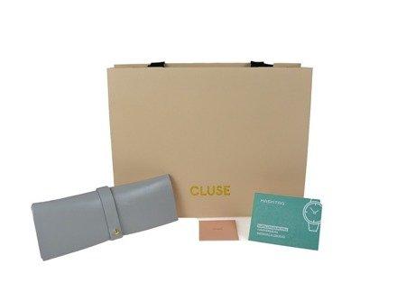 Cluse La Bohème Silver White/Silver Metallic CL18233