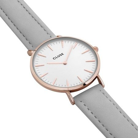 Cluse La Bohème White Rose Gold CL18042