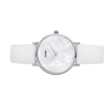Zegarek damski Cluse La Perle Silver White Pearl/White CL30060