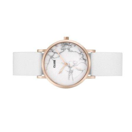 Cluse La Roche Petite Rose Gold White Marble/White CL40110