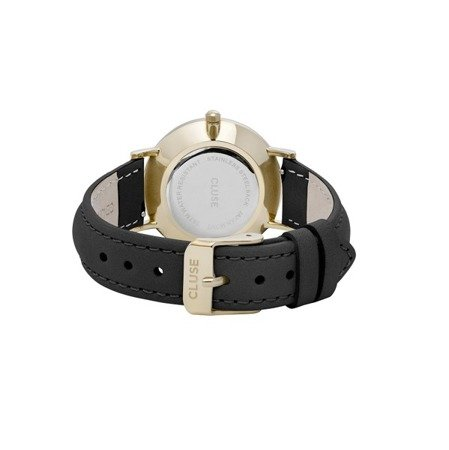 Zegarek damski Cluse Minuit Gold Black/Black CL30004
