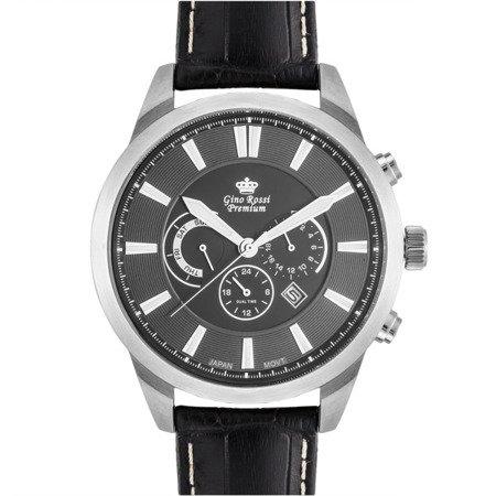Zegarek męski Gino Rossi Premium S1068A-1A1